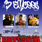 3 Emcees Tour with Mr. P Chill, Lefty Rose, Mr. Hooper, and Max Bundles