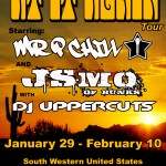 At It Again Tour 2014 with BUNKS and DJ Uppercuts