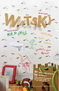 Watsky and Mr P Chill at Sac State Dec 2013