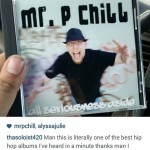 Tito from Montana posting about P Chill