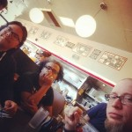 Mr P Chill Lumis and Mike Colossal at Waffle House Colorado