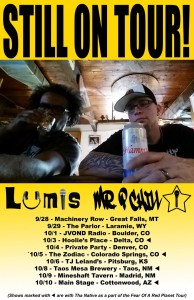 P Chill and Lumis Still on Tour